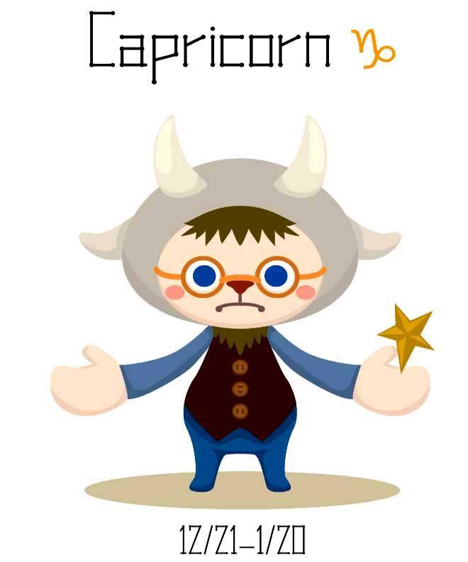 Capricorn Star Sign & Zodiac Symbol, December 22 - January