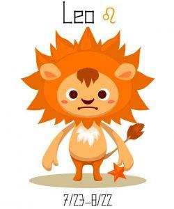 ASTROLOGY-CHILDREN-LEO