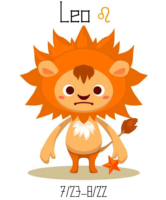 Leo Zodiac Sign Symbol Jul 23 Aug 22 Astrology