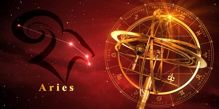 ASTROLOGY ZODIAC 1-ARIES-SM-1A