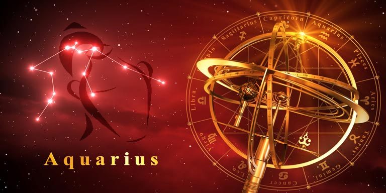 ASTROLOGY ZODIAC 11-AQUARIUS-SM