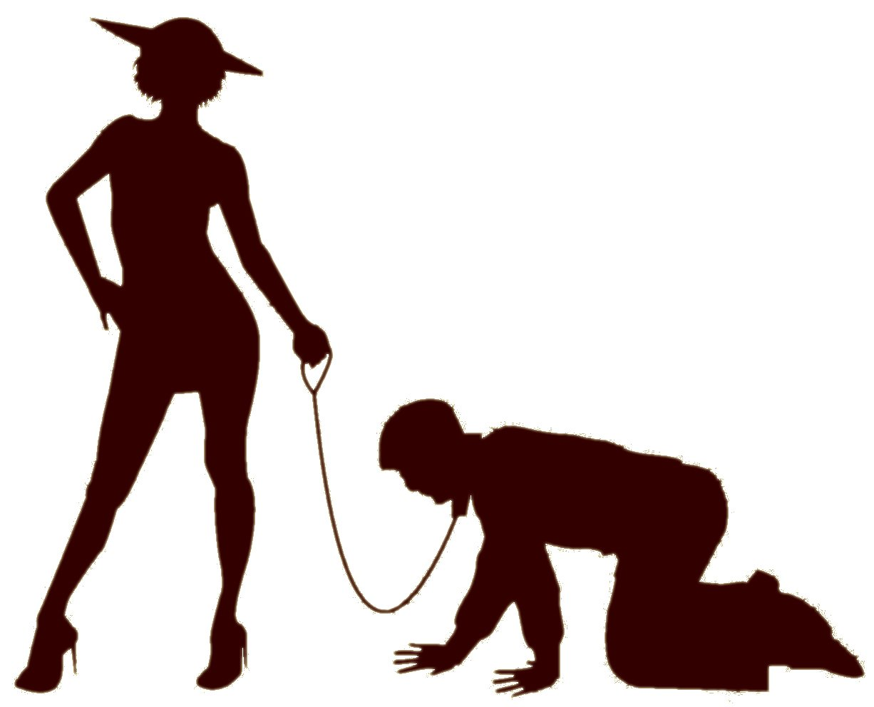 MAN ON A LEASH