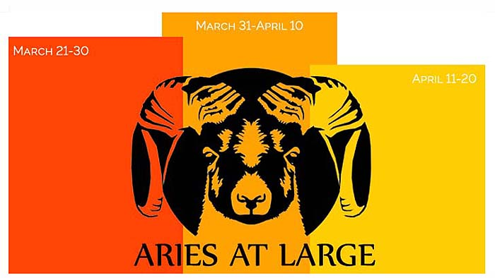 Aries Star Sign & Zodiac Symbol, March 21 - April 20