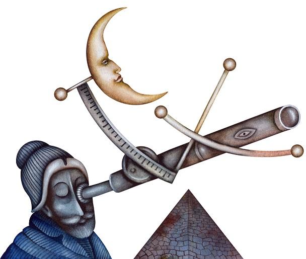 astrologer star watching