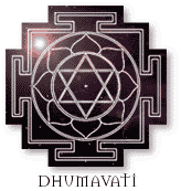 Dhumavati The Smokey One - the Power of Poverty
