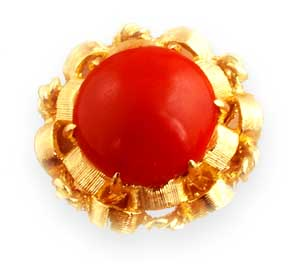 ARIES LUCKY GEM - RED CORAL