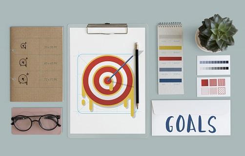 Plan Strategy Target Aim Success Concept